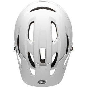 Bell 4Forty MIPS Helm matte/gloss white/black